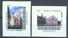 Biber Post 2 Mkn Magdeburg Nicolaikirche G200 - Private & Local Mails