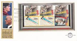 Netherlands 1995 Senior Citizen Welfare Miniature Sheet FDC - FDC