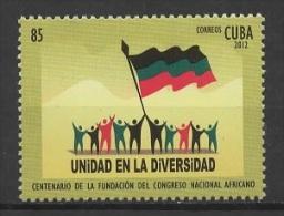 C* (2012) Yv. 5021  /  National African Congres - Cuba