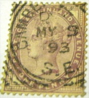 Great Britain 1881 Queen Victoria 1d - Used - Unclassified