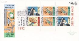Netherlands 1992 Child Welfare Miniature Sheet FDC - FDC