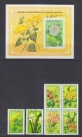 Soa Tome E Principe 1979 Flowers 6v + M/s Used (19417A) - Sao Tome En Principe