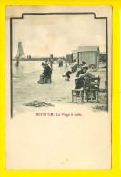 HEYST-SUR-MER Voor 1906 LA PLAGE A MIDI  - CABINE BATEAU DE PECHE - Gemeente KNOKKE HEIST - LITTORAL KUST  2431 - Heist