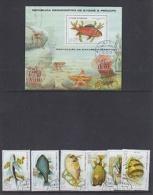 Sao Tome E Principe 1979 Fishes 6v + M/s Used (19417C) - Sao Tome En Principe