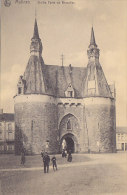 Malines - Vieille Porte De Bruxelles (animée) - Malines