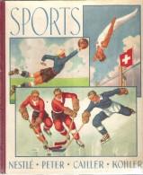 SPORTS - ALBUM NESTLE (NPCK) - 1938 - Historique