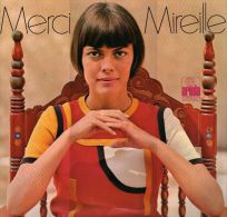 * LP *  MIREILLE MATHIEU - MERCI MIREILLE  Incl. Poster (Austria 1975 EX-!!!) - Vinylplaten