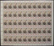 Kompletter Bogensatz Mi. 2812-2813 Mit Je DV 4 Postfrisch - Ungebraucht