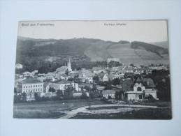 AK Österreich / Tschechien / Sudeten. 1913. Gruss Aus Freiwaldau. Kurhaus Altvater. Verlag Franz Gottwald Jun. - Sudeten