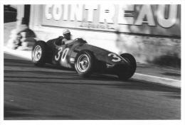 Jean Behra  -  Maserati 250F -  Monaco Grand Prix  -  1956 - Grand Prix / F1