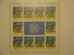 Irlande 1990 Yv 721 / 722 ** Mini Feuilles Europa Post Offices - Mi 716 / 717 - SG 776 / 777 - Scott 805 / 806 - 1949-... République D'Irlande