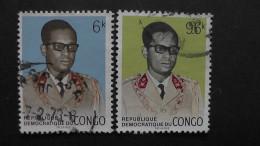 Kongo (ehem.Belg.Kongo) - 1969 - Mi:348-9 O - Look Scan - Dem. Republik Kongo (1964-71)