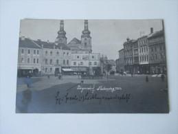 Echtfoto 1903 / 08 Österreich / Tschechien / Sudeten.Jägerndorf.  Niedernring. Hotel Krone. Joh. Batke Photograhie - Sudeten