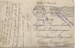 CP En Feldpost écrite De Woluwe St.Lambert V.Militaire Prisonnier à Soltau Censure Du Camp PR1650
