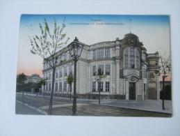 AK Österreich / Tschechien. 1914. Troppau. Lichtensteinstrasse Mit Schiller Gedächtnisschule. Originaldruck Reinicke & R - Tsjechië