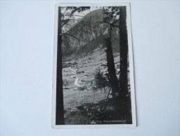AK / Echtfoto 1931. Brand. Mottenkopf. Ansicht Ins Tal - Bludenz