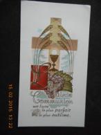 IMAGE PIEUSE -COMMUNION- Marie-Madeleine Et Marie-Lise QUESSOT - SAINT PIERRE De NEUILLY 1954 - Religion & Esotérisme
