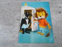 Carte Postale  TITUS LE LION - Saisons & Fêtes