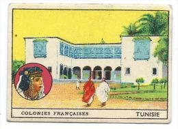 Chromo TUNISIE Colonies Françaises Sans Pub.. Dos Didactique 70 X 50 Mm Bien - Chromos