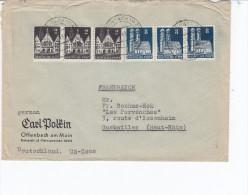 Allemagne,  Lettre  Offenbach à Guebwiller Aff Trois 2pf Et Trois 8pf, - Deutschland
