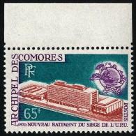 COMORES 1970 - Yv. 57 ** SUP Bdf  Cote= 5,00 EUR - Nouveau Bâtiment De L'OMS ..Réf.AFA21621 - Komoren (1950-1975)