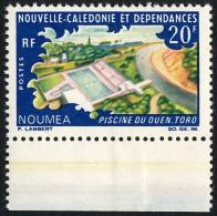 NOUV.-CALEDONIE 1967 - Yv. 338 * Bdf  Cote= 4,50 EUR - Piscine Du Ouen-Toro à Nouméa ..Réf.NCE22918 - Neukaledonien