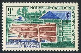NOUV.-CALEDONIE 1969 - Yv. 356 ** TB  Cote= 2,10 EUR - Elevage Calédonien : Baignade ..Réf.NCE22961 - Neukaledonien