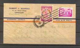 1941 REPÚBLICA DOMINICANA, SOBRE CIRCULADO ENTRE CIUDAD TRUJILLO Y LA HABANA, CORREO AÉREO - Dominican Republic
