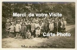 Eslettes - Carte Photo - Colonie De Vacances Marie Thérèse - Groupe De Colons Et Monitrices  - Année 1928 - 2 Scans - Altri Comuni