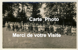 Eslettes - Carte Photo - Colonie De Vacances Marie Thérèse - Groupe De Colons Et Séminaristes - 2 Scans -- - Altri Comuni