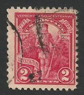 United States, 2 C. 1927, Sc # 643, Mi # 307, Used. - Etats-Unis