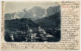ANSICHTSKARTE ... IM PONGAU, 1900 - Altenmarkt Im Pongau