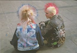 Real London Postcard, Piccadilly Punks, London, Photo Neill Menneer, 19 - London