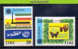 Mwe1890 FAUNA VLINDERS VISSEN VOGELS EUROPA CEPT TRACTOR FISH BIRDS BUTTERFLIES IRELAND EIRE 1986 PF/MNH - Milieubescherming & Klimaat