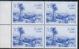 Algérie-bloc De Quatre Neuf  (Yv: 816) Vues D'Algérie - Algérie (1962-...)