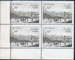 Algérie-bloc De Quatre Neuf  (Yv: 823) Vues D'Algérie - Algeria (1962-...)