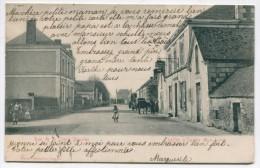 Vt*/ 49 - Cheffes Sur Sarthe : Rue De La Croix Blanche - Autres Communes