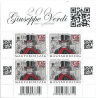 0380 Hungary Music Verdi Composer S/S MNH - Music