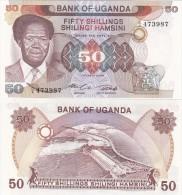 Uganda - 50 Shillings 1985 UNC Lemberg-Zp - Uganda