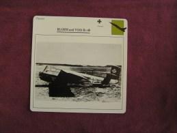 BLOHM UND VOSS BV-40    Chasseur  FICHE AVION Avec Description  Aircraft Aviation - Avions