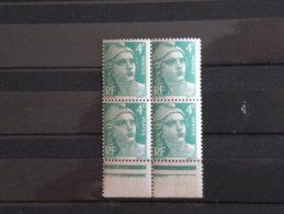 Marianne Gandon 4 Fr N° 807 Y&T - Coté 1,20 € - Neuf Sans Charnière - Ongebruikt