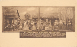 New York World´s Fair , 1930s : Albertype ; Lithuanian Village Wedding #2 - Exhibitions