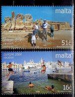 CEPT 2004 -Malta -2v -  Paper - MNH** - Europa-CEPT