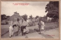 SENEGAL - AFRIQUE OCCIDENTALE - DAKAR - 154 - UN COIN DU VILLAGE - COLLECTION GAUTRON - Senegal