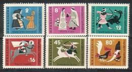 BULGARIA \ BULGARIE / BULGARIEN - 1961 - Fables Et Contes Populaires - 6v** - Bulgarie