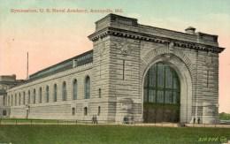 - MARYLAND. - Gymnasium, U. S. Naval Academy. ANNAPOLIS. - Scan Verso - - Annapolis