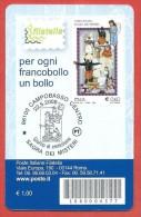 TESSERA FILATELICA ITALIA - 2009 - Campobasso - Sagra Dei Misteri - 6. 1946-.. Repubblica