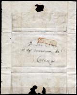 Napoli-00734 - Scigliano (Brutto E Mutilato Piego, Ma Bollatura Molto Rara). - 1. ...-1850 Prefilatelia