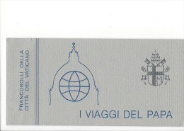 11696 - I Viaggi Del Papa Joannes Paulus II 1984 Neuf - Carnets