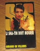 Livre Gérard De Villiers SAS N° 144 Li Sha-Tin Doit Mourir 2001 Editions Malko - SAS